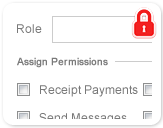 Role Based Permissions
